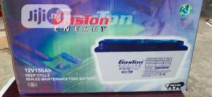 Gaston 150ah 12v Battery | Solar Energy for sale in Lagos State, Ojo