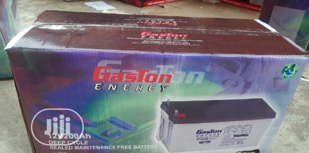 Gaston 200ah 12v Battery