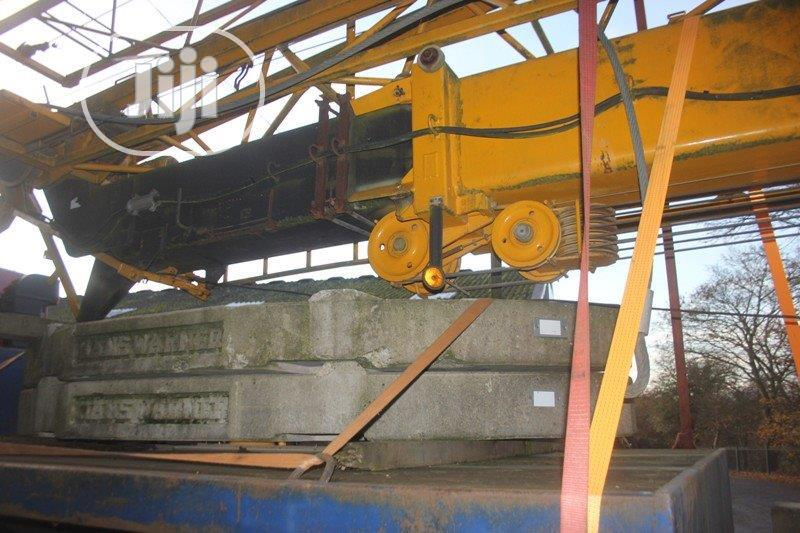 Foreign Used Tower Crane With Pdf With Telescopic Boom For Sale | Heavy Equipment for sale in Isolo, Lagos State, Nigeria