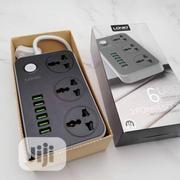 LDNIO POWERFUL CHARGING SERISE Power Strip With 6 USB 3-Outlet   Accessories for Mobile Phones & Tablets for sale in Lagos State, Ikeja