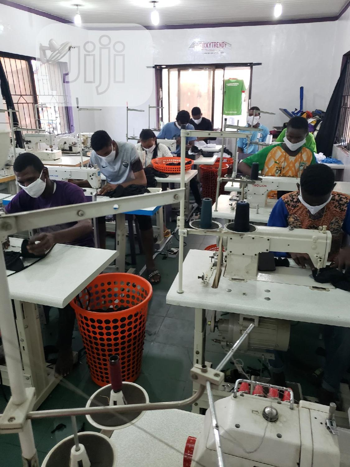 Archive: Fast Facemask Mass Production Company