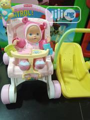Talking/ Singing Doll With Stroller and Carrier   Toys for sale in Lagos State, Ikeja