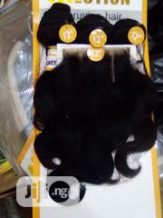 Hi Selection Brazilian 12inches With12 Inches Closure | Hair Beauty for sale in Kaduna State, Chikun