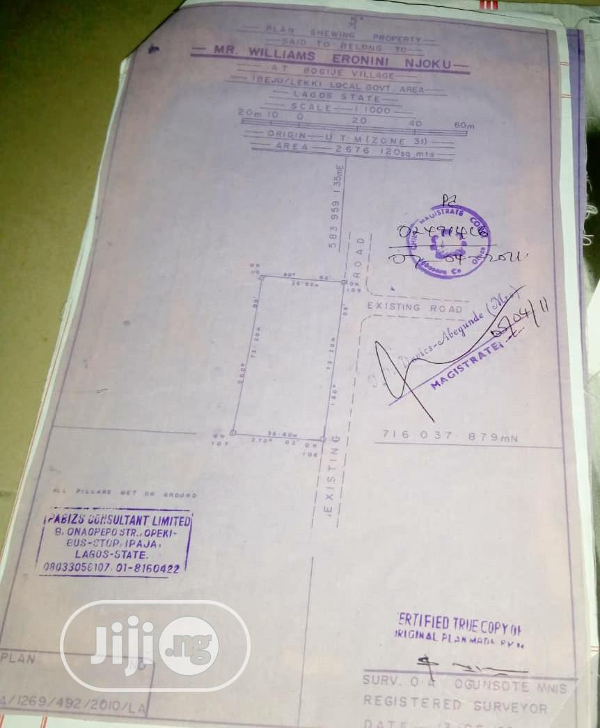 4 Plots Of Land Forsale Near Brilla FM Estate