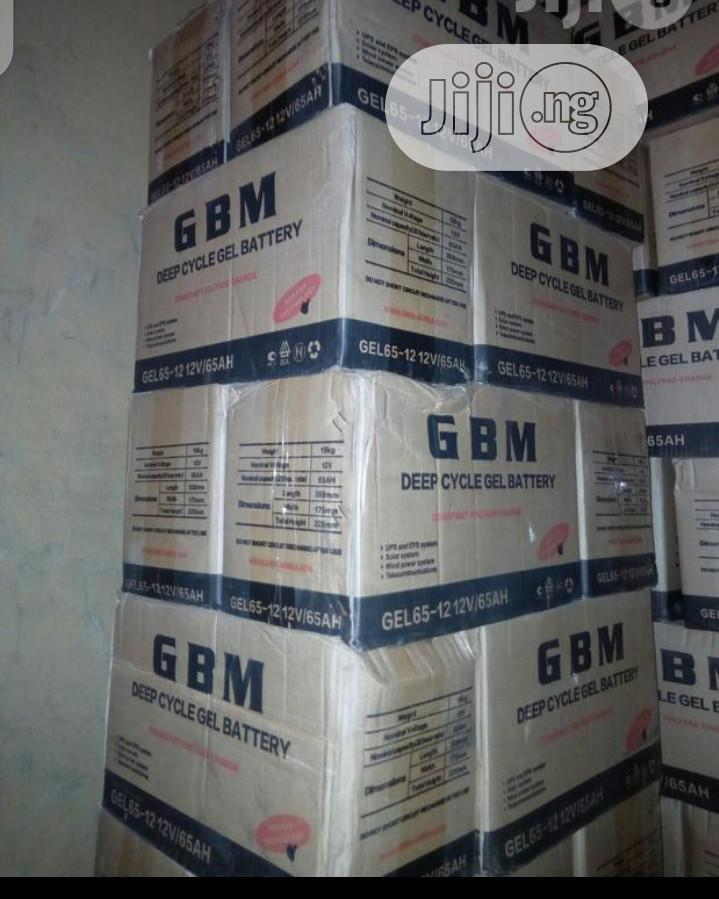 This G.B.M Battery 65ah 12volt