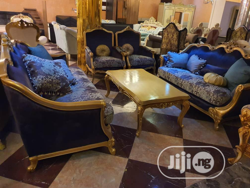 8 Seater Foreign Imported Turkey Chairs With Center Table