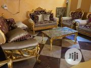 8 Seater Foreign Imported Turkey Chairs With Center Table | Furniture for sale in Lagos State, Ikeja