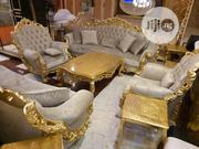 8 Seater Foreign Imported Turkey Chairs With Center Table | Furniture for sale in Lagos State, Victoria Island