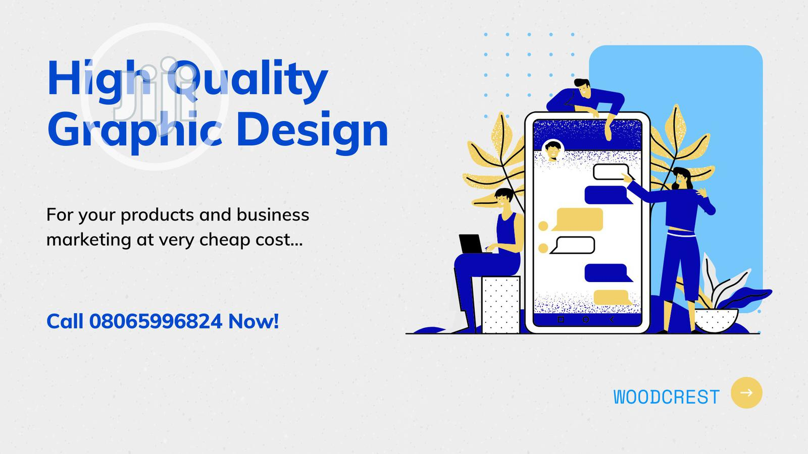 Quality Graphic Design for Your Business Marketing and Sales Campaign | Computer & IT Services for sale in Yaba, Lagos State, Nigeria