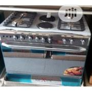 Brand Nexus 6 Burners 4 Gas 2 Hot Plates Oven And Grill 2yrs Warranty | Kitchen Appliances for sale in Lagos State, Ojo