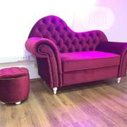 Good Quality Sofa Chair Fabric With Side Stool | Furniture for sale in Lagos State, Ojo