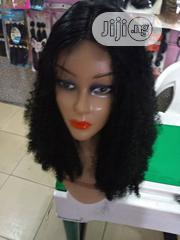 Curly Human Hair Wig 14inches | Hair Beauty for sale in Rivers State, Port-Harcourt