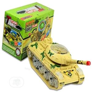 Bump & Go Action Electric Military Super Tank Fighter Toy + Lights + S | Toys for sale in Lagos State, Amuwo-Odofin