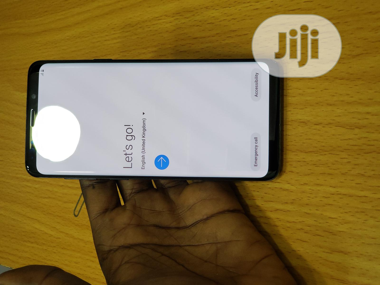 Samsung Galaxy S9 Plus 64 GB Black   Mobile Phones for sale in Isolo, Lagos State, Nigeria