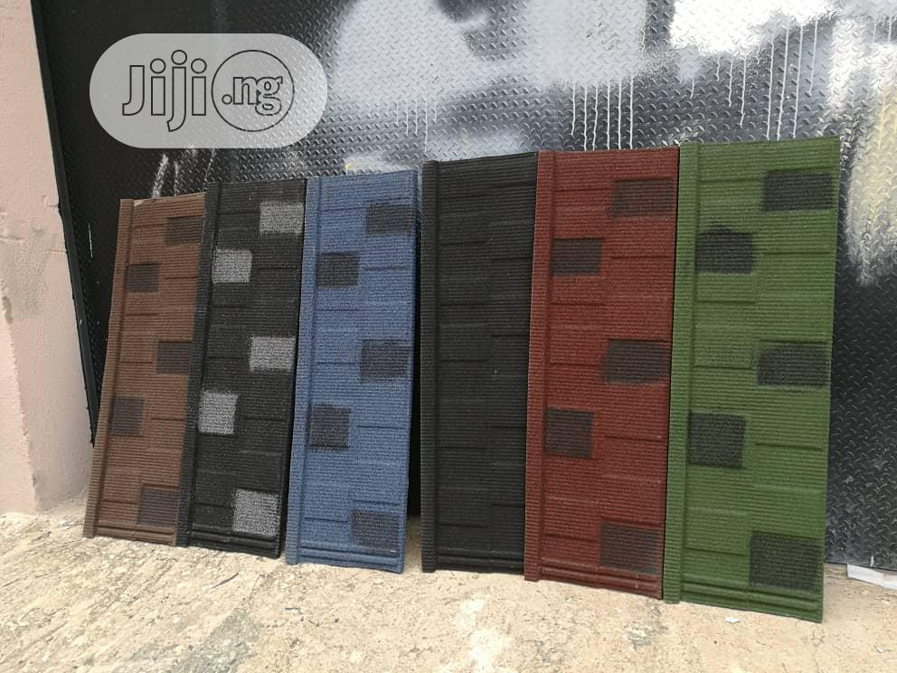 Korean Stone Coated Roofing Tiles