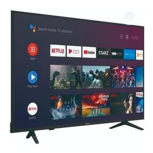 "Hisense 75"" Inch 4K UHD Smart LED Silver Slim TV + Free Wall Bracket | TV & DVD Equipment for sale in Abuja (FCT) State, Wuse"