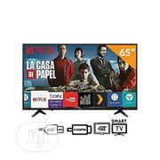 """Hisense Smart Uhd 4K TV 65""""+ Dstv - 55b7100uw   TV & DVD Equipment for sale in Abuja (FCT) State, Wuse"""
