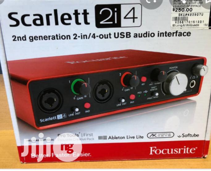 New Generation Focusrite Scarlett 2i4 Audio Interface