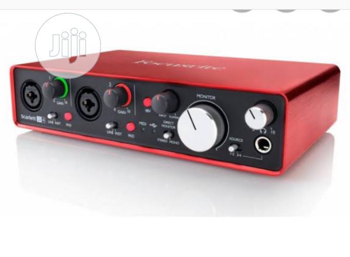 New Generation Focusrite Scarlett 2i4 Audio Interface | Audio & Music Equipment for sale in Amuwo-Odofin, Lagos State, Nigeria