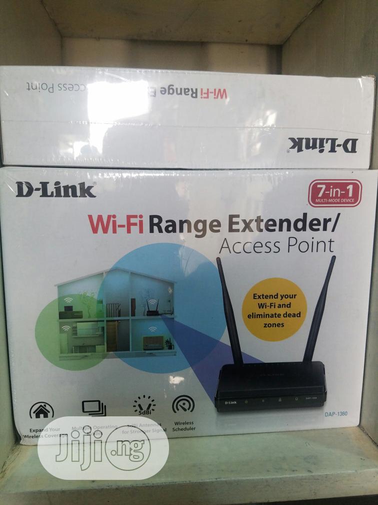 D-link (DAP-1360) Wifi Range Extender/Access Point