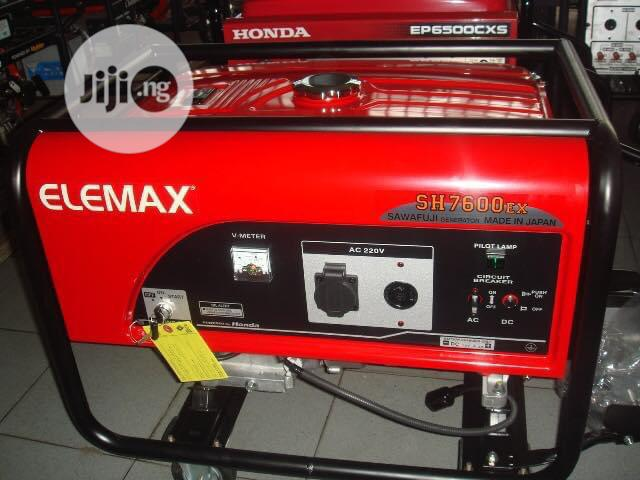 Elemax Generators 7600 Japan With Good Quality Products