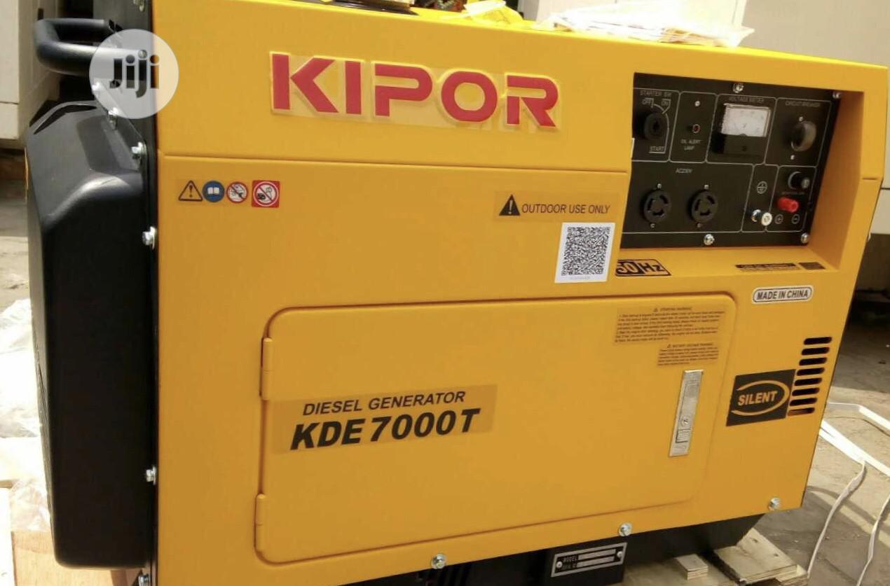Kipor Diesel 6kva Good Quality Products.