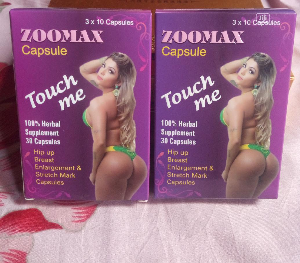 Zoomax Hip And Buttock Enlargement Capsule(30caps) | Vitamins & Supplements for sale in Egbe Idimu, Lagos State, Nigeria