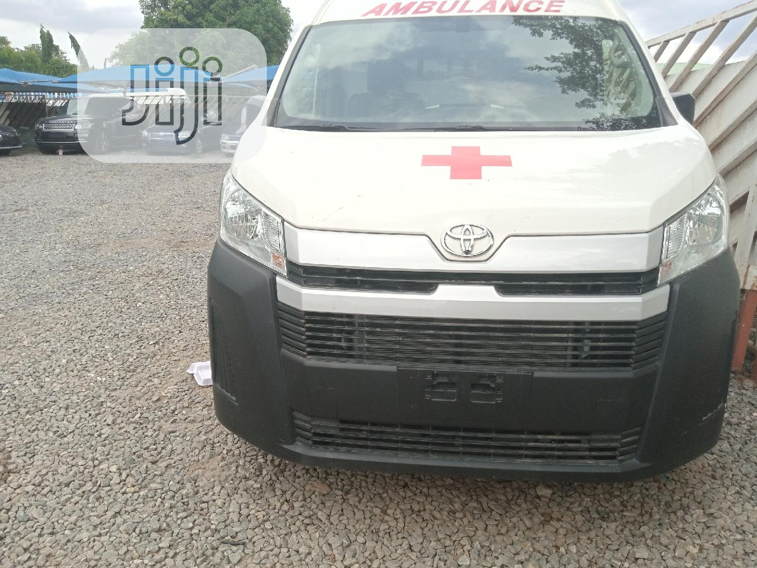 Archive: New Toyota Hiace 2020 White