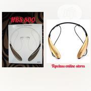 HBS 800 Wireless Neckband Bluetooth Headset | Headphones for sale in Enugu State, Enugu