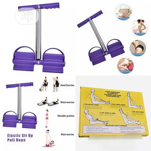 Tummy Trimmer Elastic Sit Up Pull Rope | Sports Equipment for sale in Oyo State, Ibadan