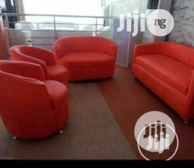 Brand New Imported Set of (7 Seaters) Quality Leather Sofa Chair's.
