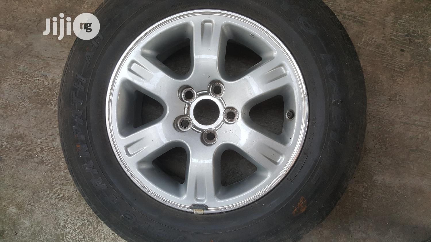 Brand New 16inch Alloy RIM (Toyota) | Vehicle Parts & Accessories for sale in Yaba, Lagos State, Nigeria