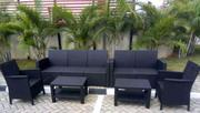 Classic Quality Out/Indoors 7seaters Chairs With 2 Tables | Furniture for sale in Lagos State, Ojota
