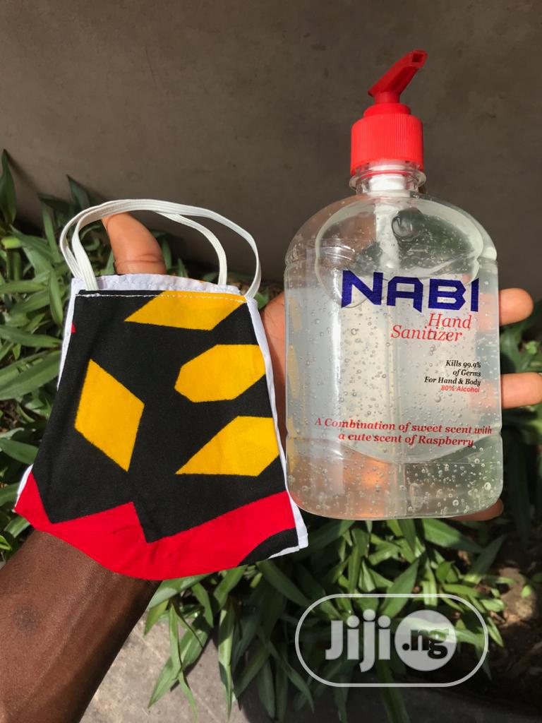 Nabi Hand Sanitizers With Free Face Mask