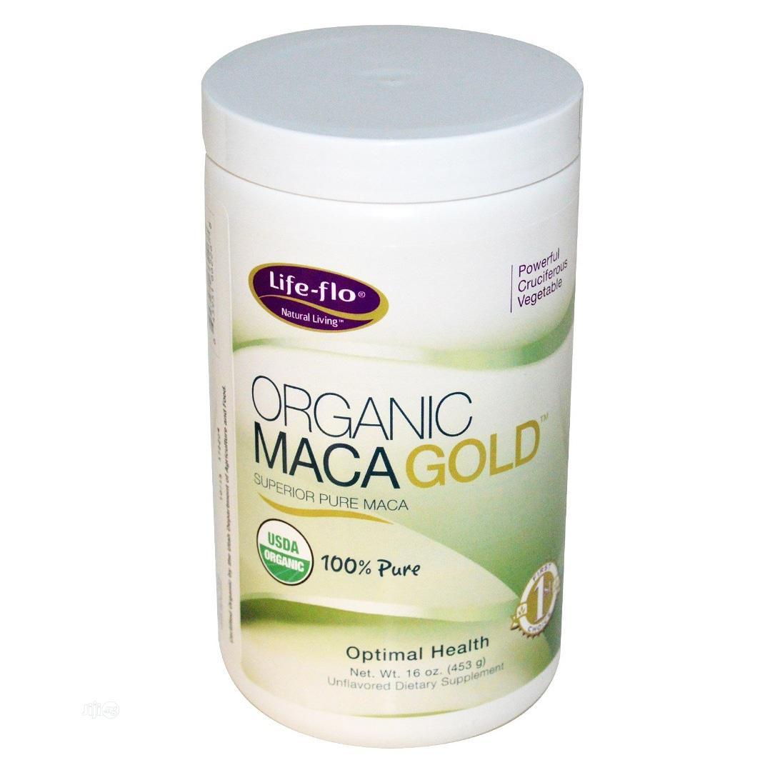 Life Flo Natural Living Organic Maca Gold Powder
