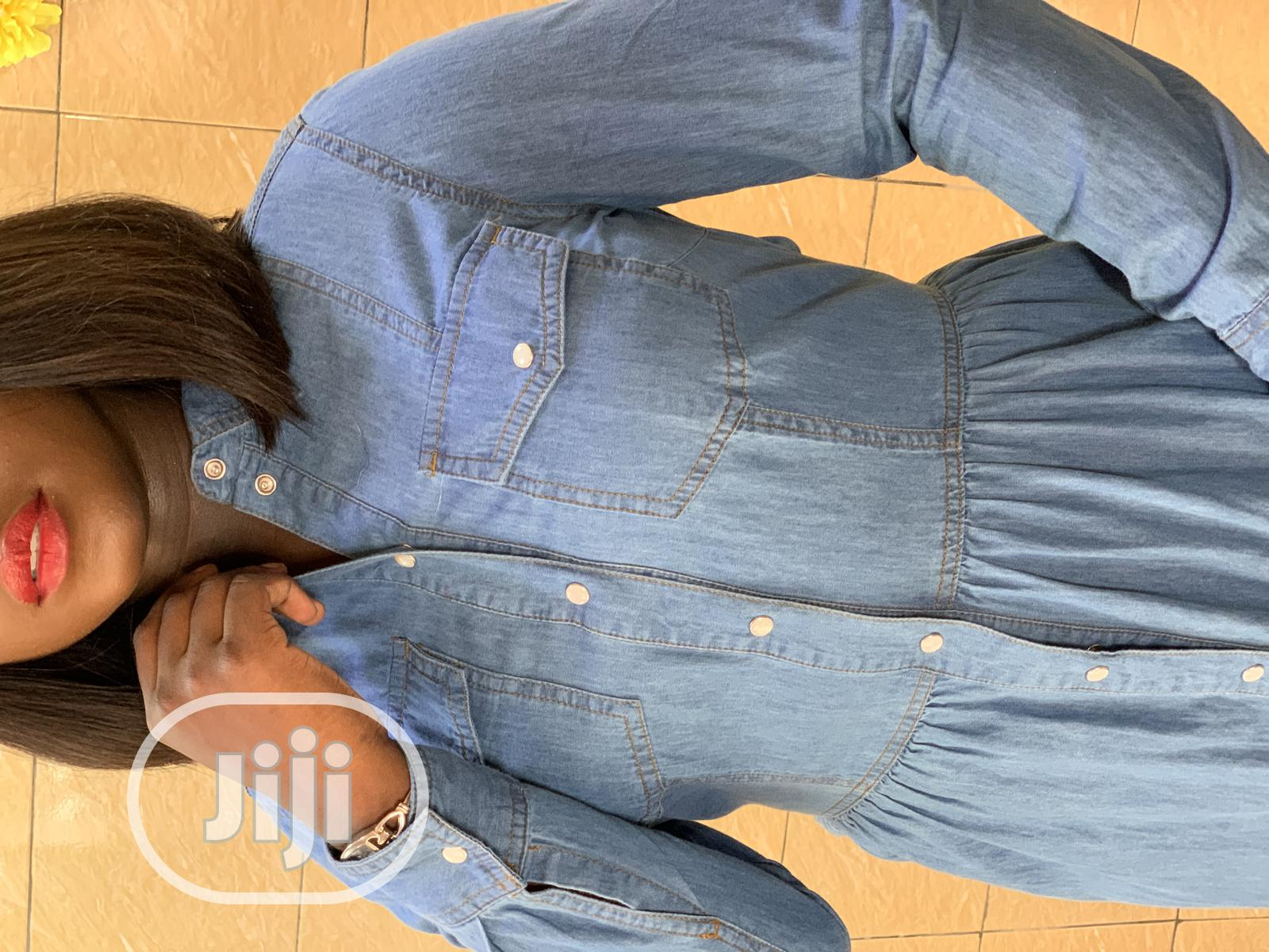 Denim Dress by Warehouse | Clothing for sale in Ikeja, Lagos State, Nigeria