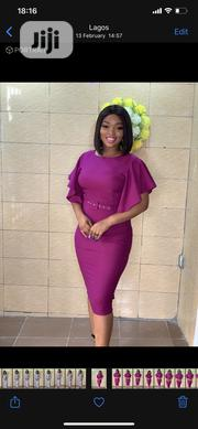 Flutter Sleeves Smart Dress | Clothing for sale in Lagos State, Ikeja