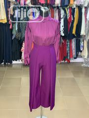 Purple Culottes Pants and Shirt | Clothing for sale in Lagos State, Ikeja