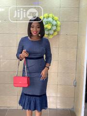 Midi Dress With Lace Details   Clothing for sale in Lagos State, Ikeja