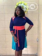 Belted Skater Dress | Clothing for sale in Lagos State, Ikeja