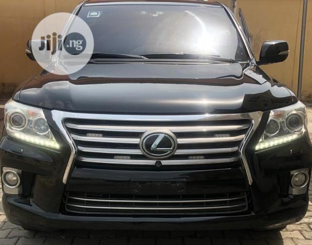 Lexus LX 2013 Black
