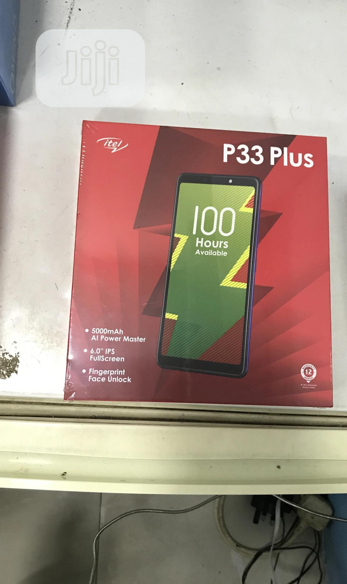 New Itel P33 Plus 16 GB Blue