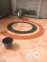 Concrete Stamp Floor Installation Services   Cleaning Services for sale in Lagos State, Gbagada