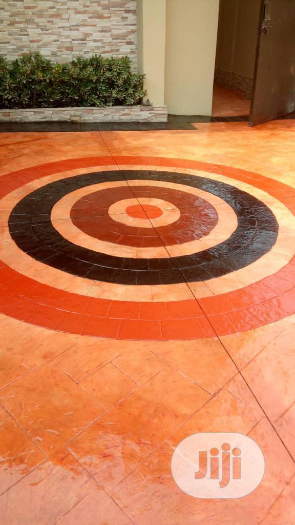 Archive: Stamping Concrete Floor Design
