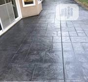 Professional Stamping Concrete Floor Installation | Cleaning Services for sale in Lagos State, Gbagada