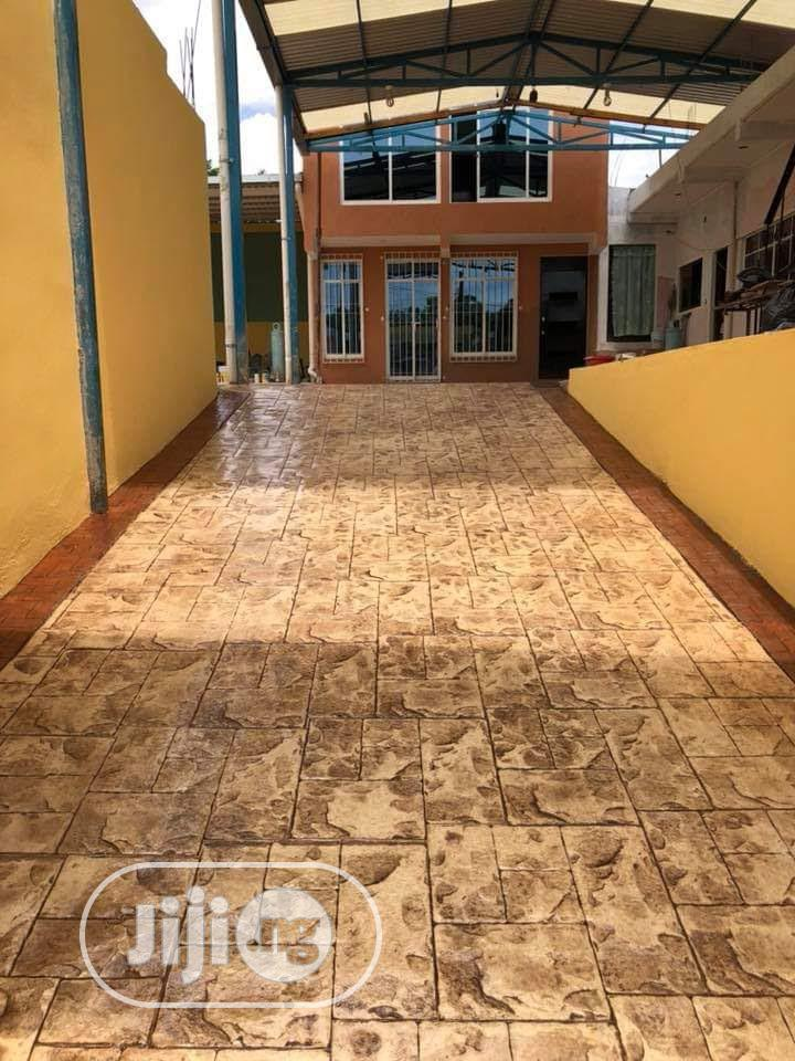 Archive: Professional Stamped Concrete Floor Installation