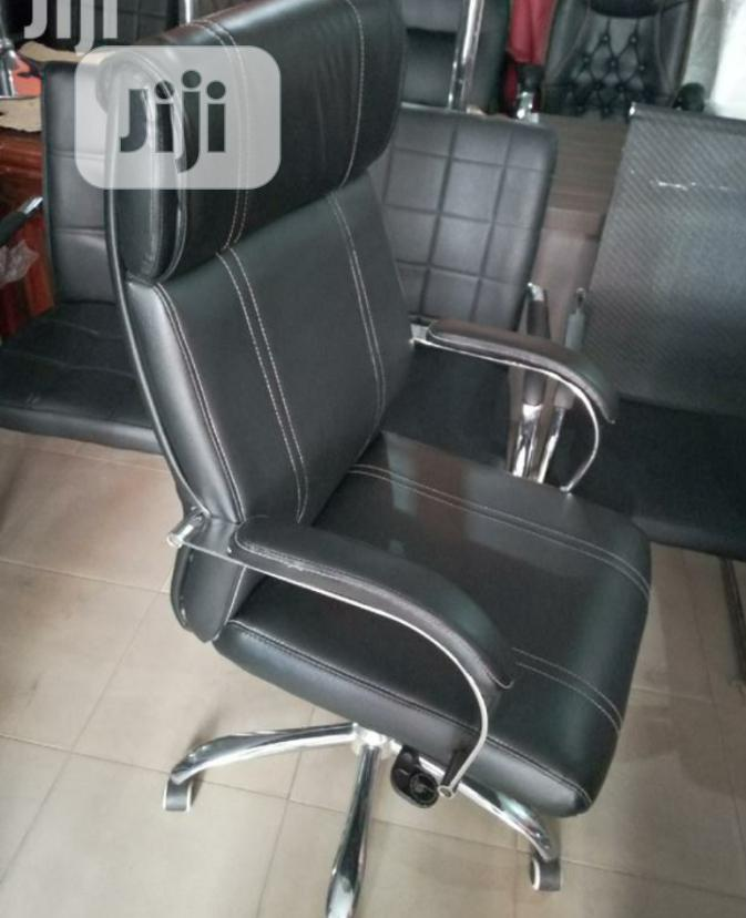 Brand New Imported Executive Leather Office Chair With Adjustable Cont