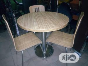 Mini Dining Chairs and Table Is Made Up of Pure (HDF) Wood Very Strong   Furniture for sale in Lagos State, Lagos Island (Eko)