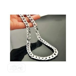 Cuban Silver Chain   Jewelry for sale in Lagos State, Surulere
