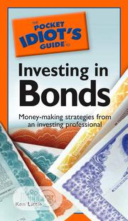 The Pocket Idiot's Guide to Investing in Bonds by Kenneth E. Little | Books & Games for sale in Lagos State, Agege